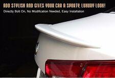 Rear Trunk Lip Spoiler Lid Trim Bodykit Parts Painted Fit KIA 11 13 Optima / K5
