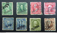 Philippines 1899/1903 Overprints Selection.