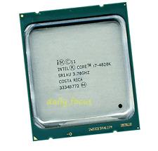 Intel Core i7-4820k 3.7 GHz LGA2011 6 Core 8 threads SR1AU CPU Processors 10 MB