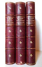 NOVELAS CORTAS - 1881 - Alarcon - 3 Tomos - Completa - 1ª Edición