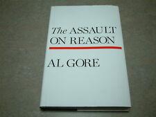 Al Gore SIGNED - The Assult On Reason - HC/DJ