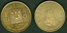 1 EURO  TEMPORAIRE DES VILLE DE PELISSANNE 1997  ETAT  SUP