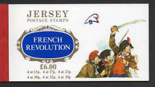 Jersey  1989 French Revolution Stamp Book SG SB41