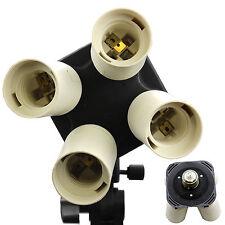 New! BlueDot Studio 4 Socket Photo Video Photography Lighting Light Accessory