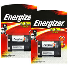 2 x Energizer Lithium 2CR5 batteries 3V DL245 ELCR5 KL2CR5 Photo Camera EXP:2026