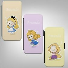 Personalised Name Princess FLIP PHONE CASE COVER for IPHONE SAMSUNG HUAWEI