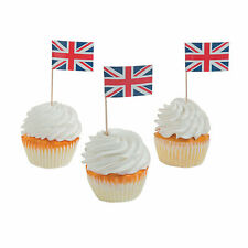 British Party Picks - Party Supplies - 12 Pieces