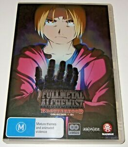 Fullmetal Alchemist: Brotherhood: Collection ~ 01 (DVD, 2010, 2-Disc Set)