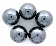 ONE 20mm 4/5 Inch Hematite Sphere Crystal Ball Gemstone Gem Stone MS2
