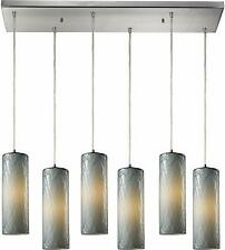 Modern Kitchen Island Pendant Light Fixture Ceiling Chandelier with Glass Shade