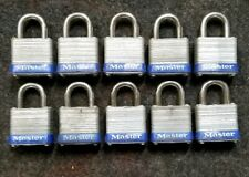 10 Qty. Master Paddle Locks NO.7