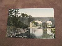 Early  postcard - Blanchland bridge - Nr Consett - Durham / Northumberland