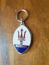 Porte-clés émaillé Maserati Quattroporte, Biturbo, Ghibli, GranTurismo, Kyalami