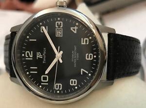 Classic Men's Watch Timepiece Titan Arabian Face 38mm TPGT-50328-22L