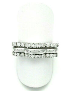 White Gold Ring 18 CT and Diamonds CT 0,34 From GIOIELLERIA AMADIO -30%