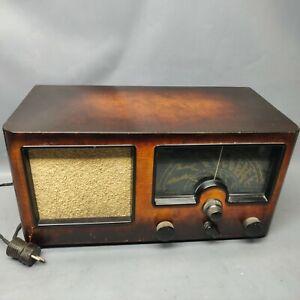 Tandberg Solvsuper 3 Röhrenradio Rarität aus Schweden 1941. Sølvsuper Tube Radio