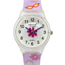 Children Watch For Girls Lovely Gifts Fashion Kids Watches Cute Jelly Wristwatch