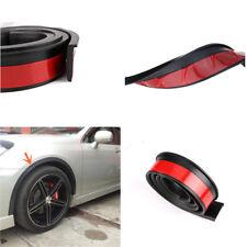 2X 55mm/1.5m Rubber Car Fender Flare Wheel Eyebrow Trim Protector Lip Moulding