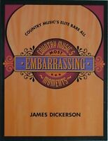 COUNTRY MUSIC'S EMBARRASSING MOMENTS, 1996 BOOK (KENNY CHESNEY, SHANIA TWAIN +