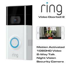 Anello Video Campanello 2 movimento attivato 1080HD 2-Way Video Talk Visione Notturna Cam