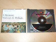 J Strauss - Waltzes & Polkas - Vienna Philharmonic - Boskovsky (CD) Mint/New