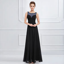 Ever-Pretty Polo Neck/Roll Neck Sleeveless Dresses for Women