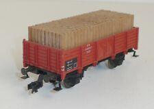 Fleischmann 5203 DB offener Güterwagen O20 beladen Spur H0 OVP
