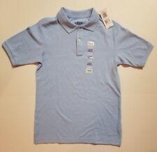 Izod Polo LIGHT BLUE Short Sleeve Shirt Youth Large 14 - 16 School Uniform NWT