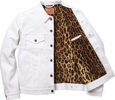 Supreme Levis Trucker Jacket Leopard Medium