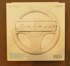 Nintendo Wii -  Official Racing Wheel - Boxed and Complete