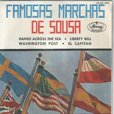 J.P. SOUSA EP Spain 1964 EASTMAN WIND ENSEMBLE Hands across the sea F. FENNELL