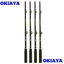 "OKIAYA COMPOSIT 6ft 30-80LB ""WHITE MARLIN"" 4PACK SALTWATER BIG GAME ROLLER RODS"