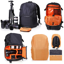 Travel Camera Backpack Bag Case DSLR SLR Canon EOS Rebel Nikon Sony Panasonic