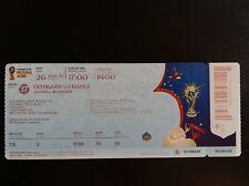 #37 Ticket DENMARK - FRANCE 2018 WC Russia Danmark