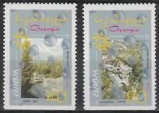 Georgia postfris 2001 MNH 376-377 Du - Europa (k112)