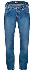 Wrangler Greensboro MORE BLUES Herren Frühling und Sommer Jeans Hose