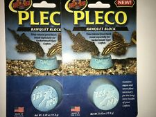 Zoo Med Pleco Banquet Food Block , 2 new
