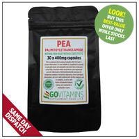 Meilleur Vente PEA 400mg Palmitoylethanolamide VEG Capsules Chronique Douleur