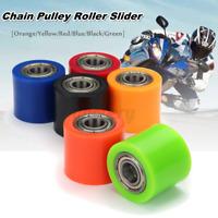 10mm Chain Roller Pulley Slider Tensioner Wheel Guide For Pit Dirt Mini Bike