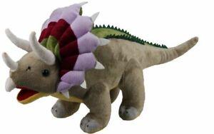 "Palz Plush Dinosaur Triceratops - Small 12""/30cm - Kids Soft Stuffed Animal Toy"