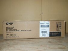 NEW Genuine DNP DP-DS80DX Fotolusio Media Set (1 Case of 2 Sets) For DS80DX OEM