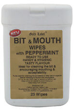 Gold Label Bit & Mouth Wipes - 25 Pack