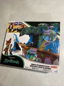 Disney Zootopia Danger in the Rainforest District SEALED NEW Rare To Find!