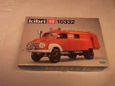 Kibri H0:  Ford FK 2500 Feuerwehr mit Vorbaupumpe (Art.Nr.10332), neuer Bausatz!