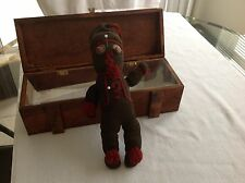 Antique Voo Doo Doll Handmade with  Wooden Box Super Unique And Interesting