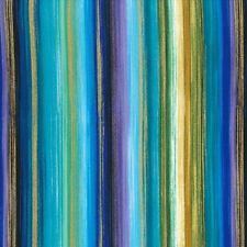 Timeless Treasures Fabric - Enchanted - Watercolour Stripe - 100% Cotton 1/4m+