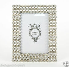 """Olivia Riegel Mercer Picture Photo Frame with Swarovski crystals stones 5 x 7"""""""