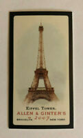 2007 Topps Allen & Ginter Baseball Black Mini Eiffel Tower Parallel