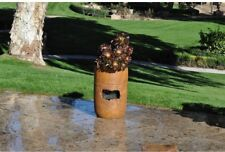 Fountain and Planter Cordless Resin Self-Watering Rustic Southwestern Style