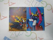 Anime Invincible Robo Trider G7 Mini Card Set of 2 Ohsato Japan Vintage 1980s